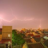 Thunderstorm over Hanoi